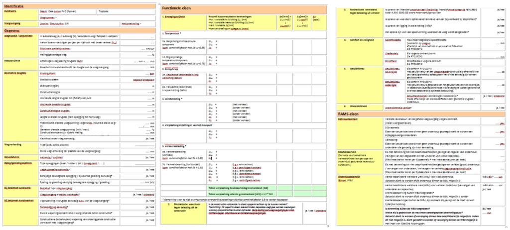 Checklist RTD 1007-2