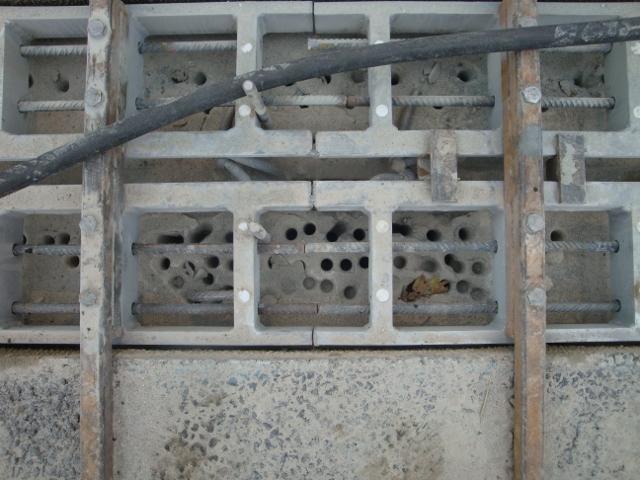 Een hoge concentratie wapening in de betonconstructie kan problemen geven.