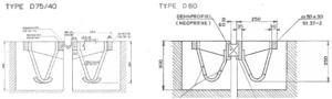 Maurer rijroosters D75/40 en D60