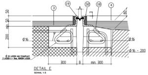 Standaardontwerp NBD00400 zonder kantopsluiting