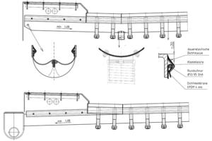 Detaillering HWA gootconstructie