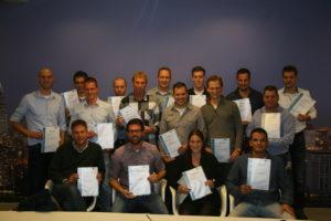 16 deelnemers geslaagd voor Opleiding Voegovergangen en Opleggingen